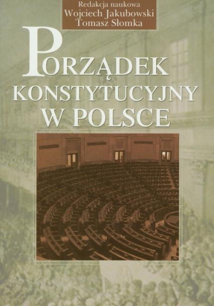 Porządek konstytucyjny w Polsce -    okładka