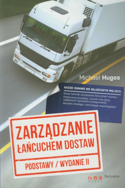 Zarządzanie łańcuchem dostaw Podstawy - Michael Hugos | okładka