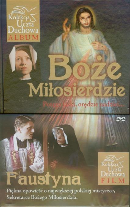 Boże Miłosierdzie z płytą DVD Potęga łaski, orędzie nadziei... - Małgorzata Pabis   okładka