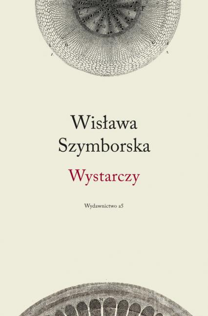 Wystarczy - Wisława Szymborska | okładka