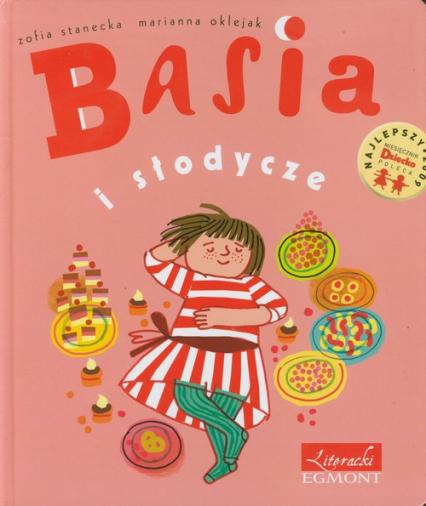Basia i słodycze - Zofia Stanecka | okładka
