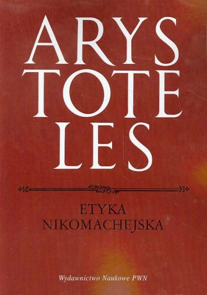 Etyka Nikomachejska - Arystoteles   okładka