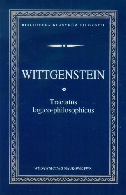 Tractatus logico-philosophicus - Ludwig Wittgenstein   okładka