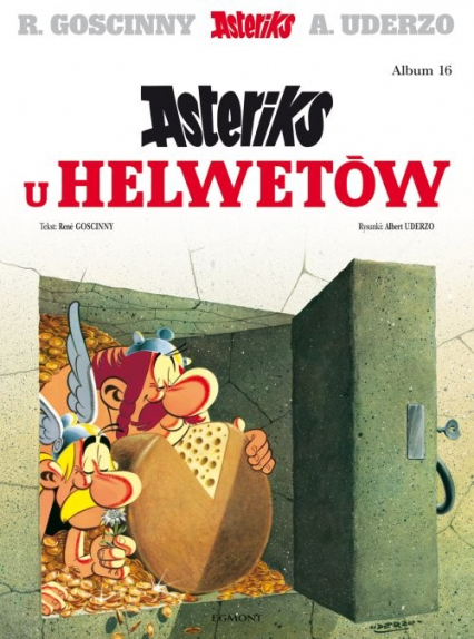 Asteriks Asteriks u Helwetów Tom 16 - Rene Goscinny | okładka