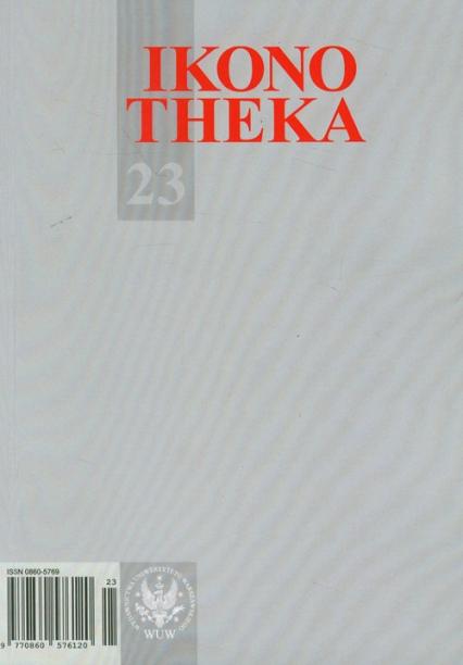 Ikonotheka 23/2012 - zbiorowa Praca | okładka