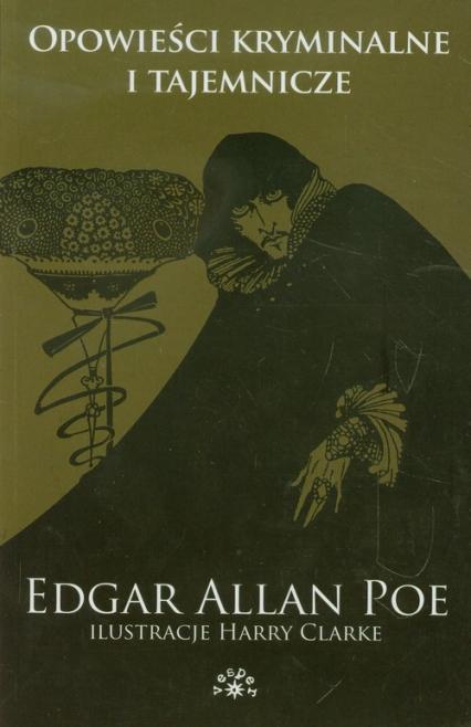 Opowieści kryminalne i tajemnicze - Poe Edgar Allan | okładka