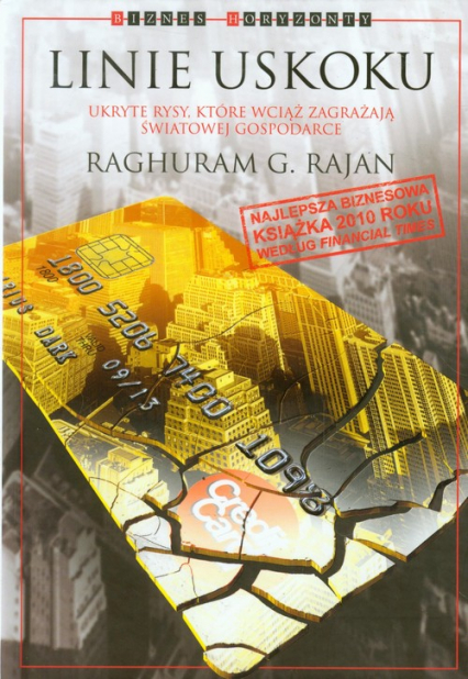 Linie uskoku - Raghuram G Rajan | okładka
