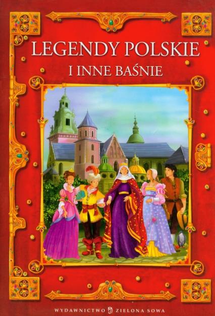 Legendy polskie i inne baśnie - Edyta Wygonik   okładka
