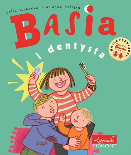 Basia i dentysta - Zofia Stanecka | okładka