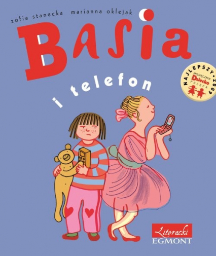 Basia i telefon - Zofia Stanecka   okładka