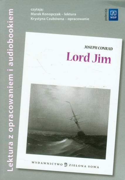 Lord Jim Lektura z opracowaniem i audiobookiem - Joseph Conrad   okładka