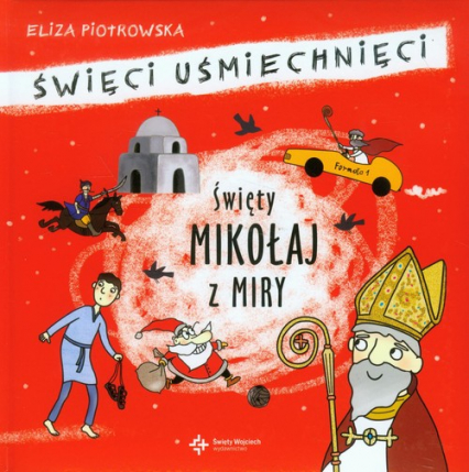 Święty Mikołaj z Miry - Eliza Piotrowska | okładka