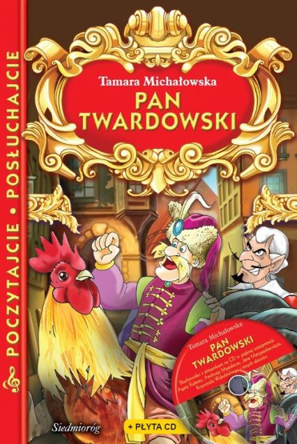 Pan Twardowski + płyta CD Poczytajcie, posłuchajcie - Tamara Michałowska | okładka