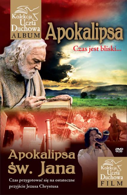 Apokalipsa + DVD - Małgorzata Pabis | okładka