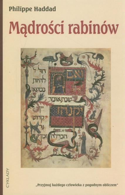 Mądrości rabinów - Philippe Haddad   okładka