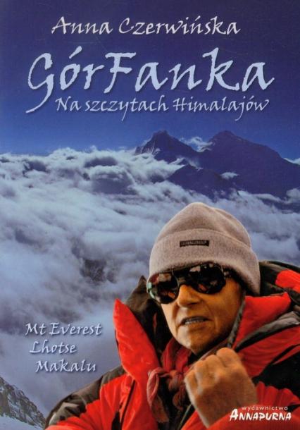 GórFanka Na szczytach Himalajów - Anna Czerwińska   okładka