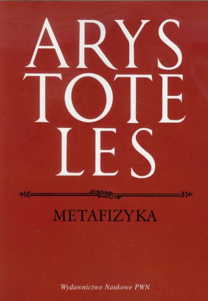 Metafizyka - Arystoteles   okładka