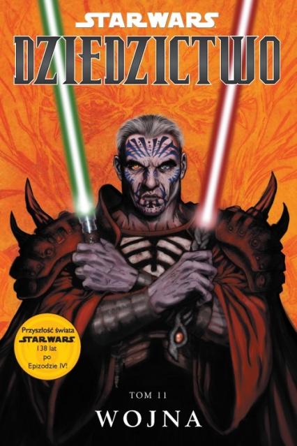 Star Wars Dziedzictwo Tom 11 Wojna - John Ostrander | okładka