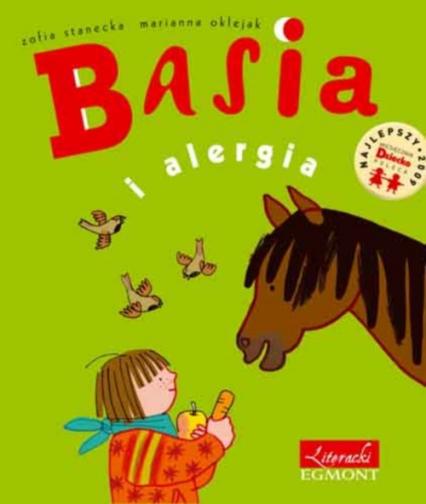 Basia i alergia - Zofia Stanecka   okładka