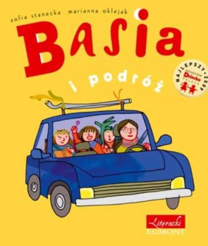 Basia i podróż - Zofia Stanecka   okładka