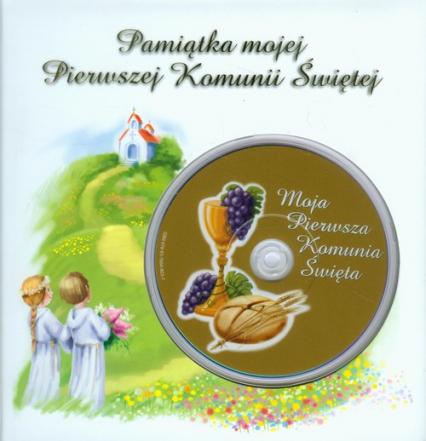 Pamiątka mojej Pierwszej Komunii Świętej z płytą DVD płyta do nagrania zdjęć lub filmów z Twojej uroczystości -  | okładka