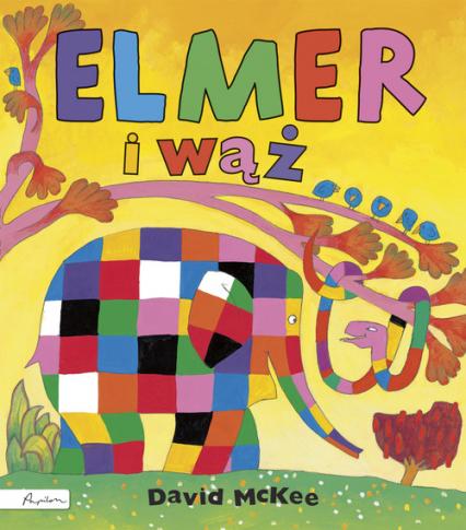Elmer i wąż - David McKee | okładka