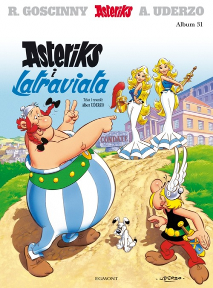 Asteriks i Latraviata - Albert Uderzo | okładka