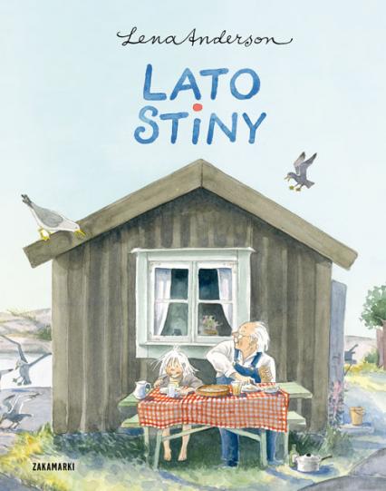 Lato Stiny - Lena Anderson   okładka