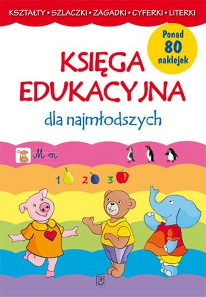 Księga edukacyjna dla najmłodszych - Joanna Babula | okładka