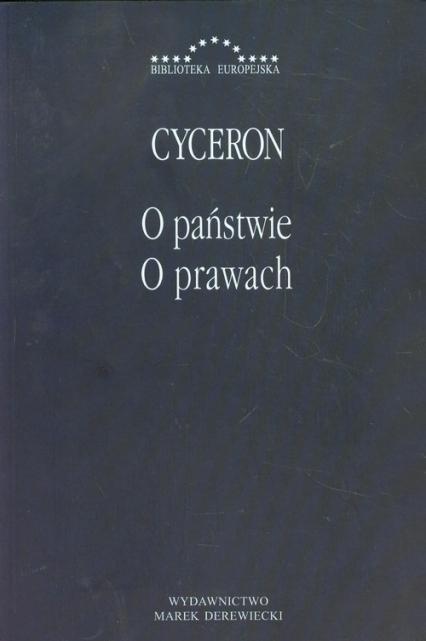O państwie O prawach - Cyceron Marek Tulliusz | okładka