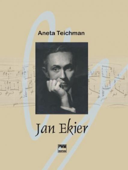 Jan Ekier - Aneta Teichman | okładka
