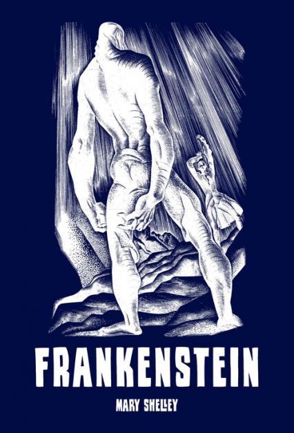 Frankenstein, czyli współczesny Prometeusz - Mary Shelley | okładka