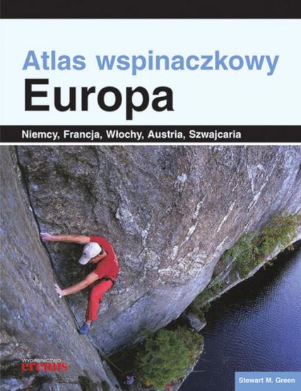 Atlas wspinaczkowy Europa - Green Stewart M. | okładka
