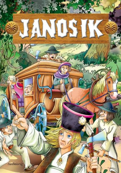 Janosik - Tamara Michałowska | okładka