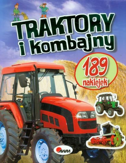 Traktory i kombajny 189 naklejek -  | okładka