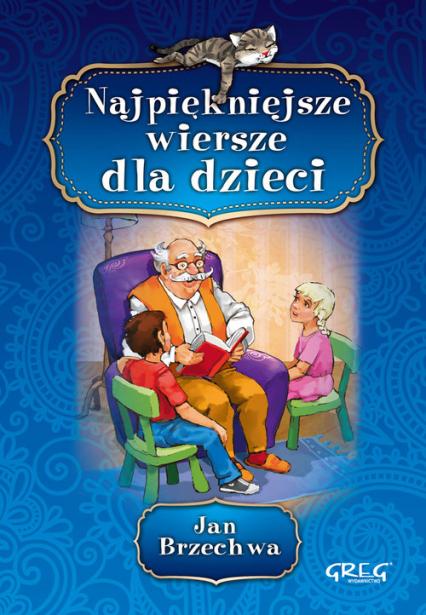 Najpiękniejsze wiersze dla dzieci - Jan Brzechwa   okładka