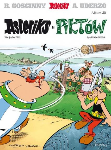 Asteriks u Piktów Tom 35 - Jean-Yves Ferri | okładka