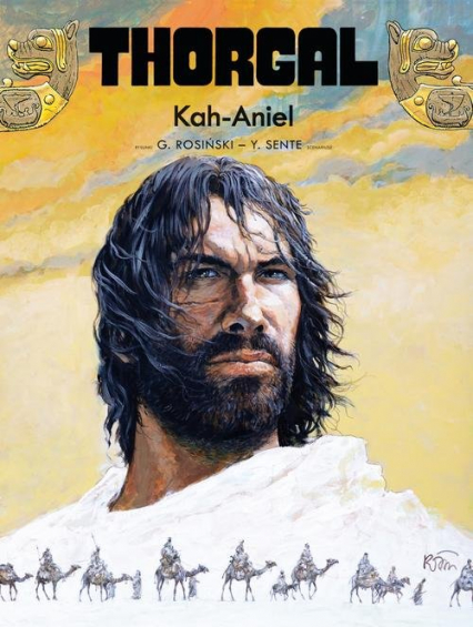 Thorgal Kah-Aniel Tom 34 - Yves Sente | okładka