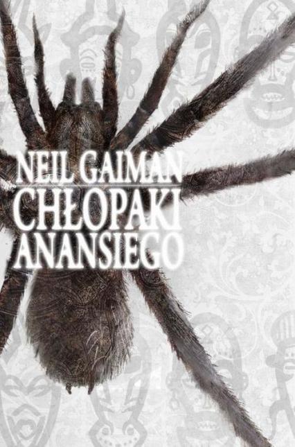 Chłopaki Anansiego - Neil Gaiman | okładka