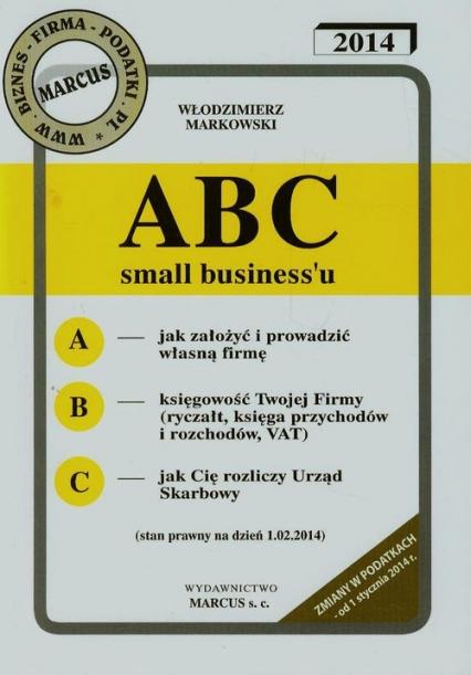 ABC small business'u - Włodzimierz Markowski | okładka