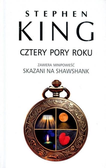 Cztery pory roku - Stephen King | okładka