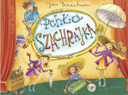 Pchła Szachrajka - Jan Brzechwa | okładka