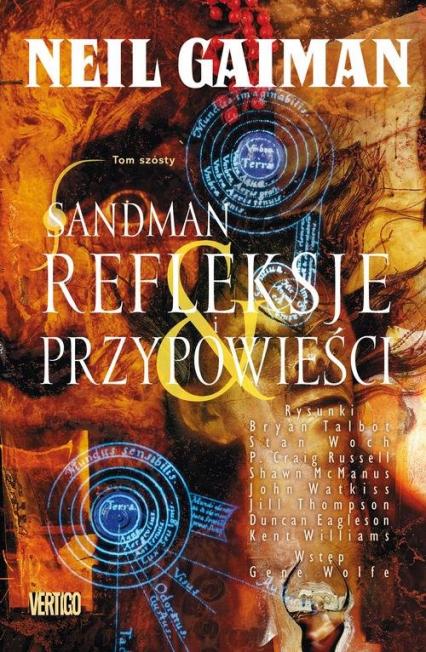 Sandman Tom 6 Refleksje i przypowieści -  | okładka