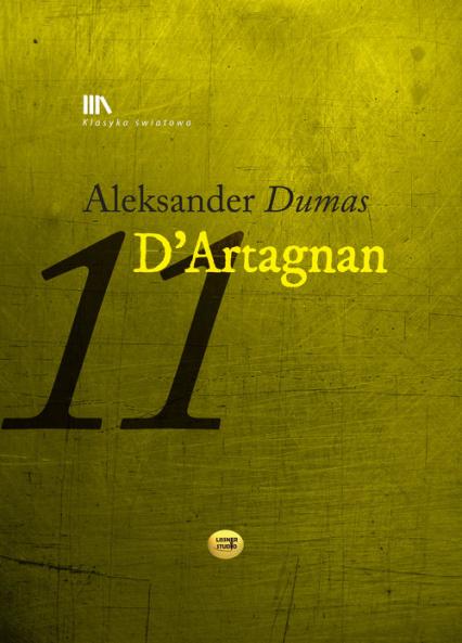 D'Artagnan - Aleksander Dumas   okładka