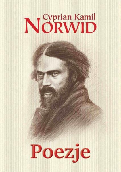 Poezje - Norwid Cyprian Kamil | okładka