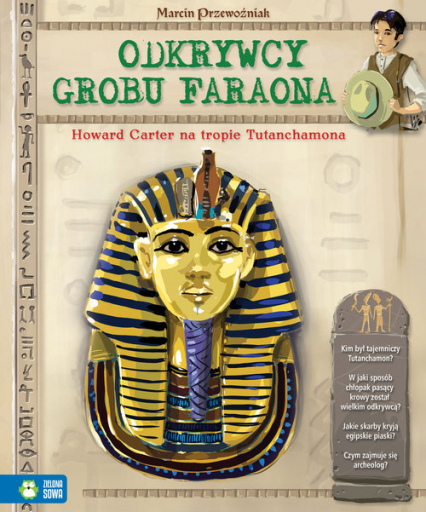 Odkrywcy grobu Faraona - Marcin Przewoźniak | okładka