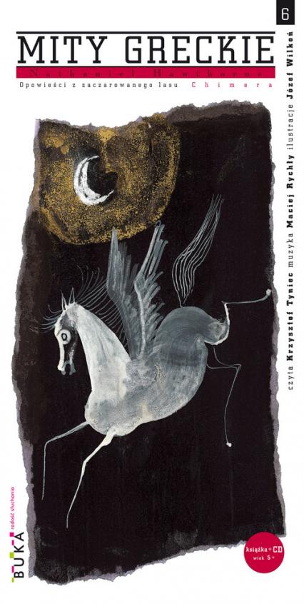 Mity greckie 6 Chimera Opowieści z zaczarowanego lasu - Nathaniel Hawthorne | okładka