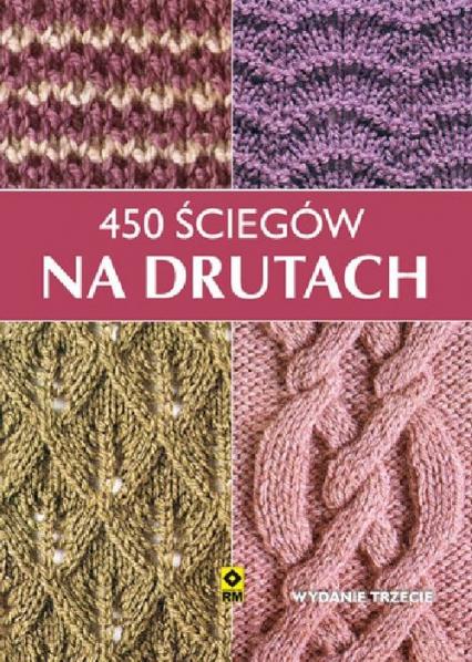 450 ściegów na drutach -  | okładka