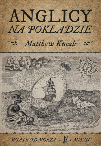 Anglicy na pokładzie - Matthew Kneale | okładka