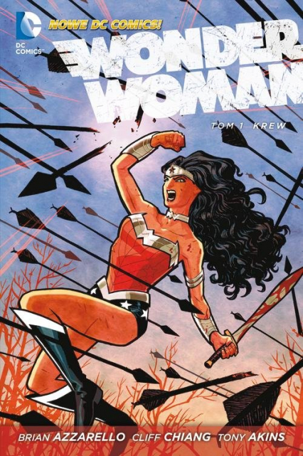 Wonder Woman Krew Tom 1 - Brian Azzazello | okładka